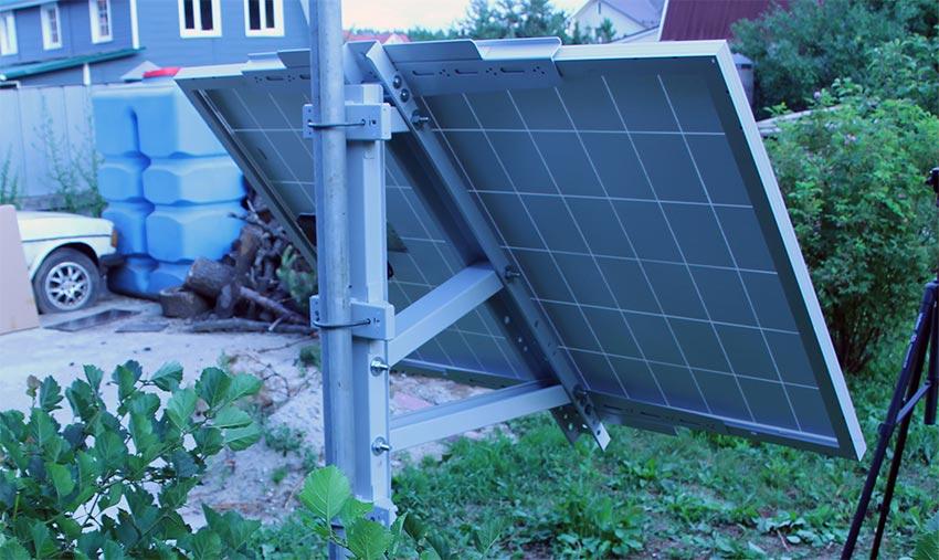 Кронштейн Егерь 4 для установки сборки монтажа солнечных батарей